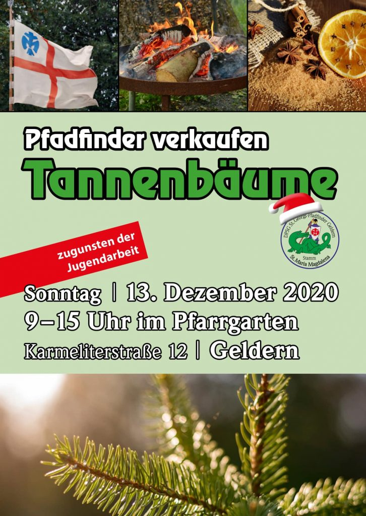 Tannenbaumaktion Pfadis 2020